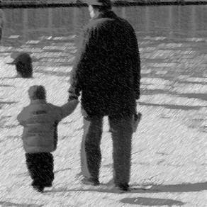 """""""The Little Boy and the Old Man"""" - Shel Silverstein"""