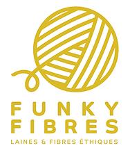 Funky-Fibres Logo brun-clair transparent