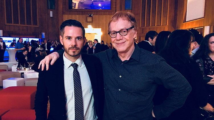 Meeting Danny Elfman 2017