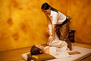 Traditional Thai massage therapist near the Cotswolds