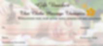 Massage gift voucher Banbury Oxfordshire