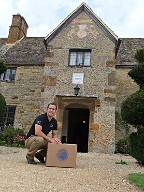 Amor Removals Ltd owner - Joe Amor at Sulgrave Manor