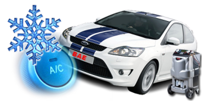 Bicester Auto Electrics Ltd service car air conditioning systems.