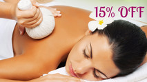 15% OFF all Thai massage treatments