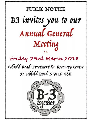 B-3 Annual General Meeting 2018