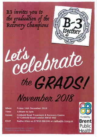 B3 Recovery Champions Graduation 2018