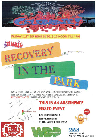 Recovery in the Park Event