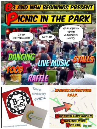 B3 and New Beginnings Present Picnic in the Park 2019