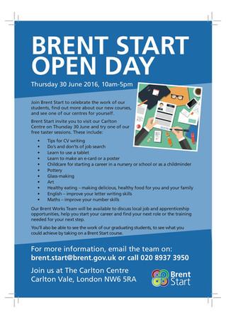 Brent Start Open Day