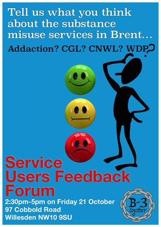 Service User Feedback Forum