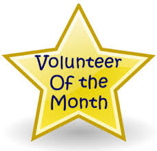Volunteer Of The Month (Sept)