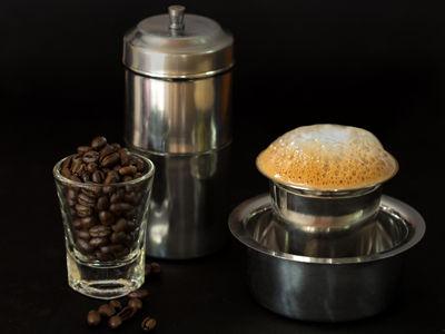 kaapi - indian filter coffee