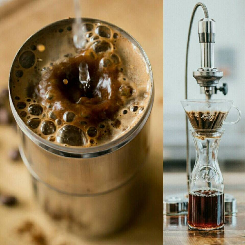 indian filter coffee and western filter coffee