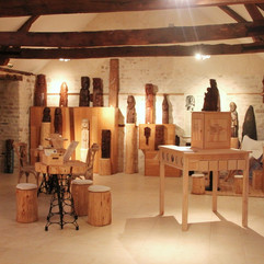 Co-réalisation d'une scénographie - Musée Eugène Aulnette