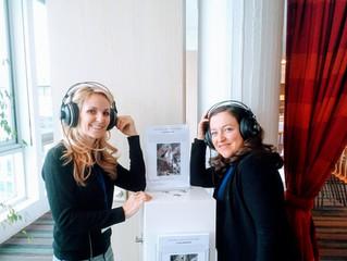 Une borne audio réalisée par Paysages Sonores à l'UNESCO