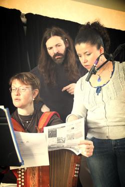 Enregistrement école de musique Les Menhirs