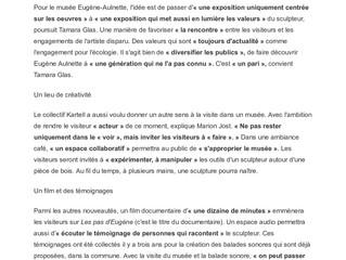 Merci Ouest-France pour ce bel article