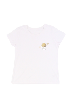 T-shirt Saturne Femme