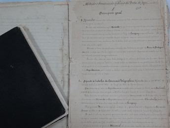Caderneta histórica de Marechal Rondon é preservada pela Agraer