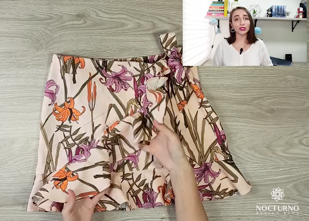 DYI Falda cruzada. Andrea te muestra como hacer tu wrap skirt en casa.