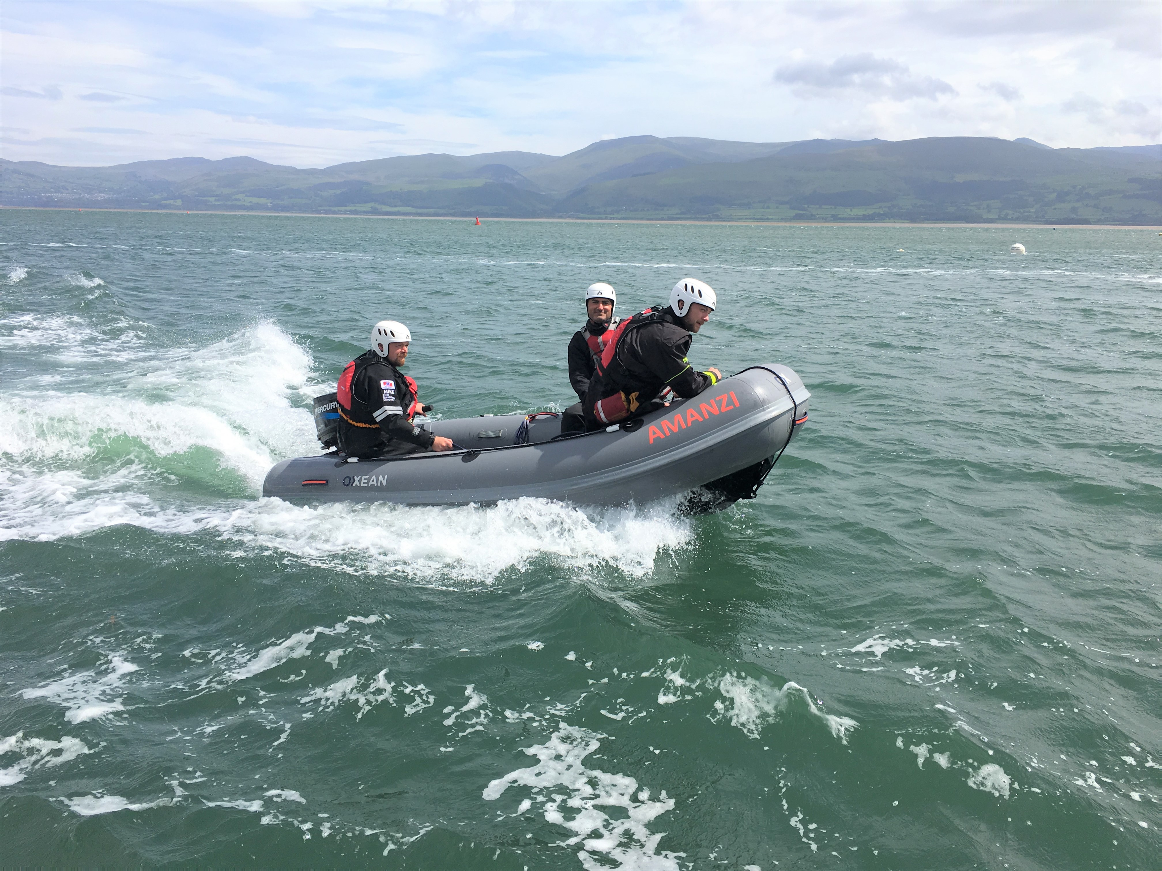 Rescue Boat Operator Training