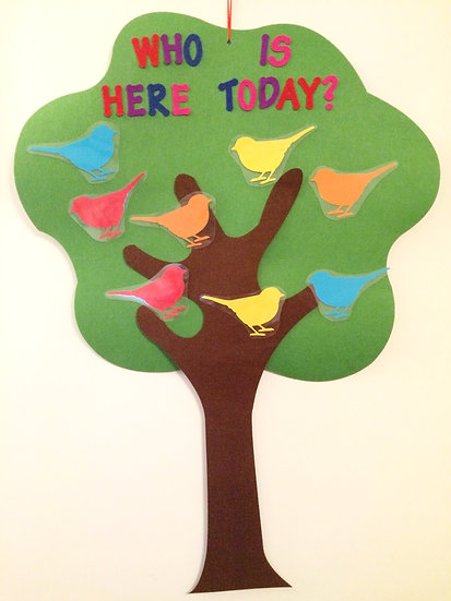 Large Self Registration Tree with Birds