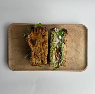 sandwich de pavo - turkey sandwich -  s/.23