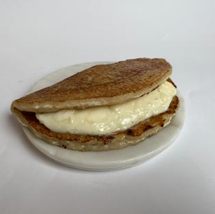 cachapa - corn pancake with cheese -  s/.16