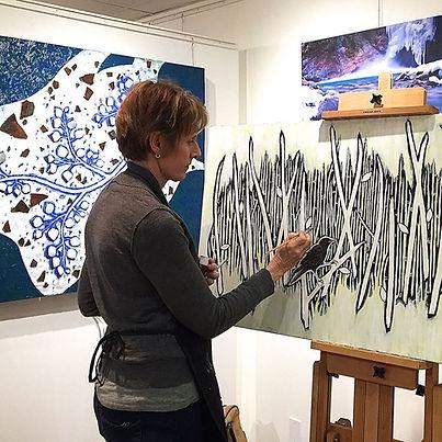 Artist Kris Lee, Raitman Gallery-Vail