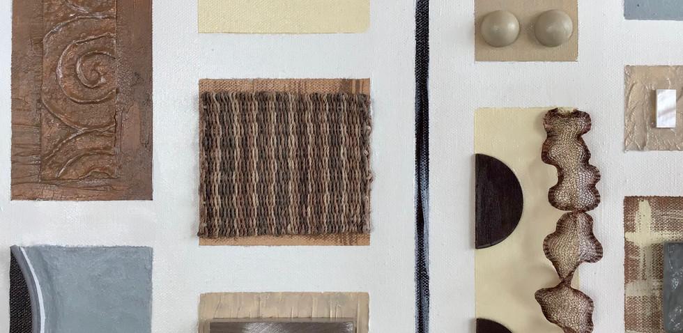 Assemblage-Dove Detail