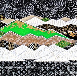 Wild #1 (Small Canvas Series) Green