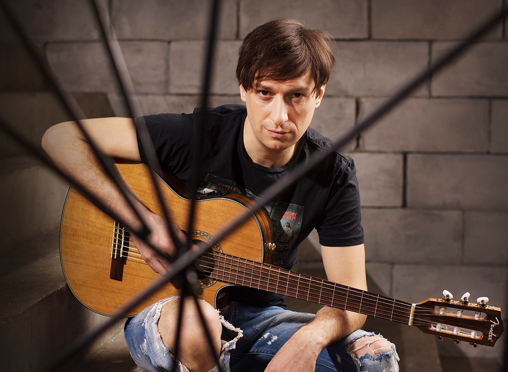 Илья Соколов - группа ВЫСТРЕЛ. Вокал, гитара.