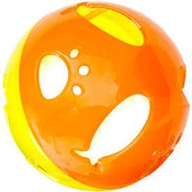 Bola de plástico com guizo dentro savana