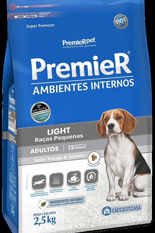 Premier Pet Ambientes Internos Cães Adultos Light