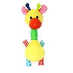 Brinquedo pelúcia mordedor pato