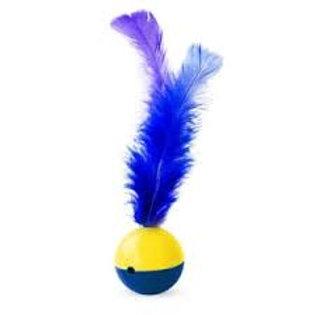 Bola com pena (cores variadas)