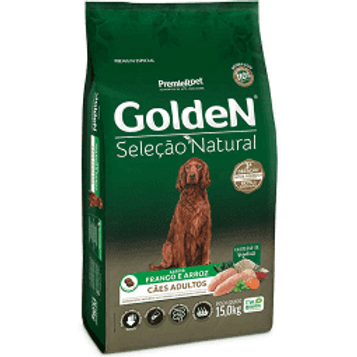 Golden Premier Pet Seleção Natural para Cães Adultos 3KG