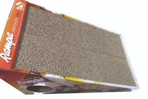 Arranhador rampa de papelão
