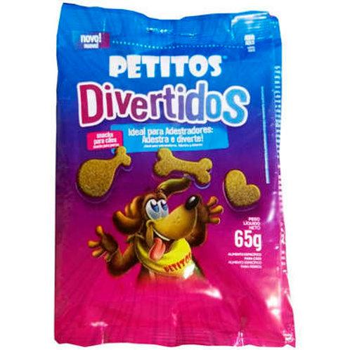 Petisco Snack Petitos Divertidos para Cães