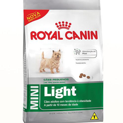 ROYAL CANIN MINI ADULT LIGHT CÃES PEQUENOS 1KG