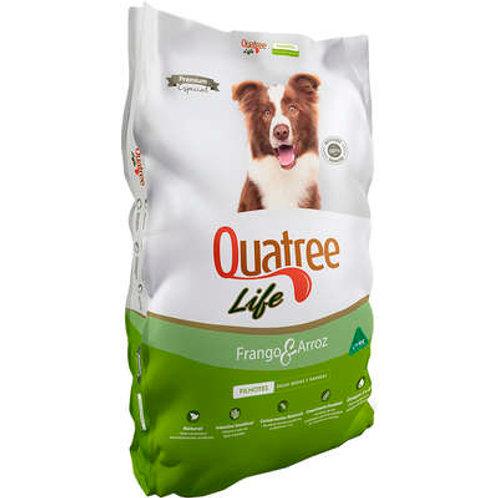 Ração Quatree Life Frango e Arroz Cães Filhotes Raças Médias e Grandes 3kg