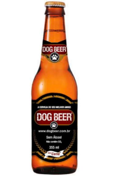 Cerveja Dog Beer sem Álcool Sabor Carne para Cães
