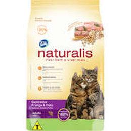 Naturalis Frango e Peru para Gatos Castrados