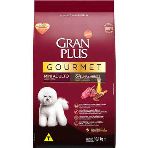 GranPlus Gourmet Ovelha & Arroz para Cães Adultos Raças Mini