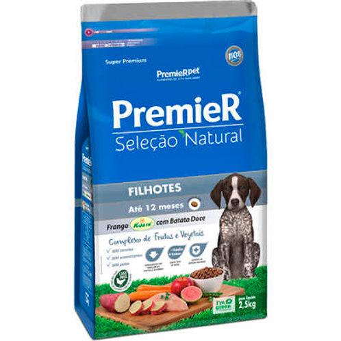 Premier seleção Natural frango batata doce cão filhote 2,5kg