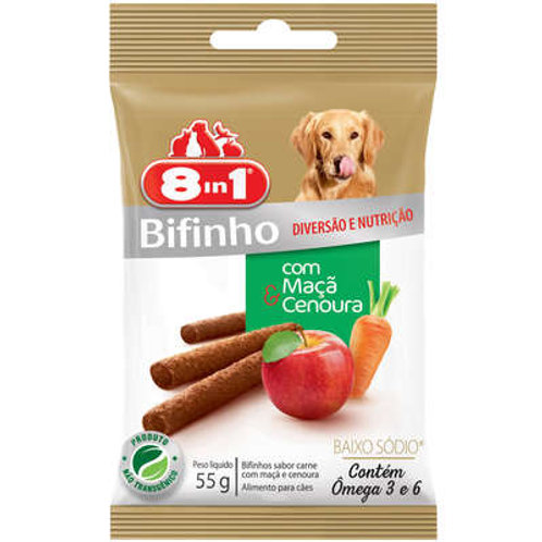 Bifinho 8in1 Maçã com Cenoura para Cães