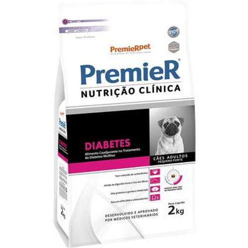 Premier Nutrição Clínica Diabetes para Cães Adultos Pequeno Porte