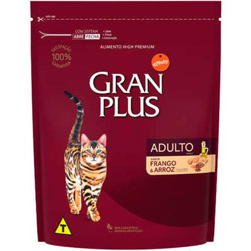Gran Plus Frango e Arroz para Gatos Adultos