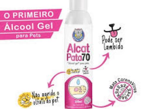 Alcat pata70 (álcool gel para pets)