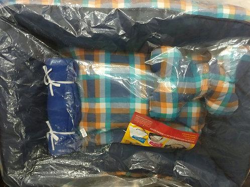 Cama lavável M com travesseiro e manta